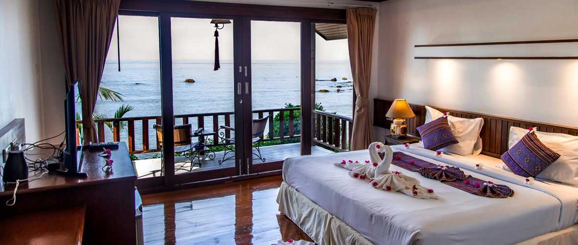 Bungalow with Sea View - Bedroom